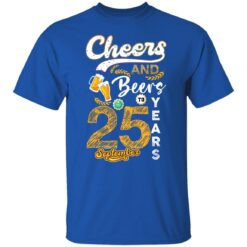September 1996 25 Years Old Cheers Beer To My 25th Birthday T-Shirt 16 of Sapelle
