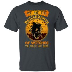 We Are The Descendants Of Witches You Could Not Burn Womens T-Shirt 19 of Sapelle