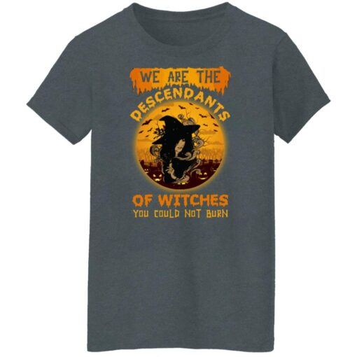 We Are The Descendants Of Witches You Could Not Burn Womens T-Shirt 14 of Sapelle