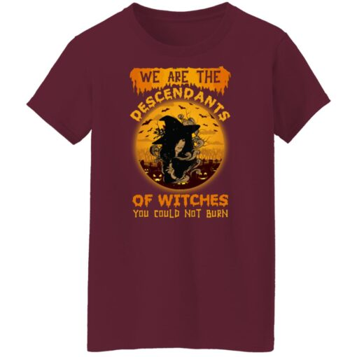 We Are The Descendants Of Witches You Could Not Burn Womens T-Shirt 15 of Sapelle