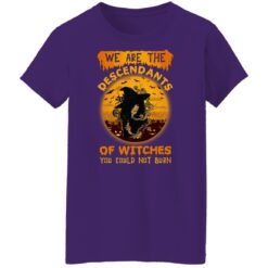 We Are The Descendants Of Witches You Could Not Burn Womens T-Shirt 49 of Sapelle