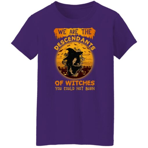 We Are The Descendants Of Witches You Could Not Burn Womens T-Shirt 17 of Sapelle