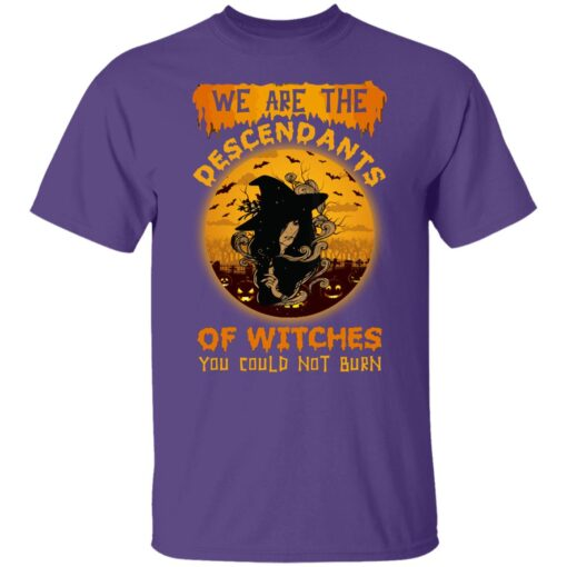 We Are The Descendants Of Witches You Could Not Burn Womens T-Shirt 5 of Sapelle