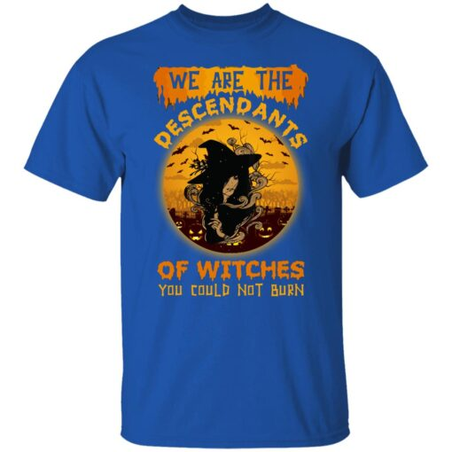 We Are The Descendants Of Witches You Could Not Burn Womens T-Shirt 6 of Sapelle