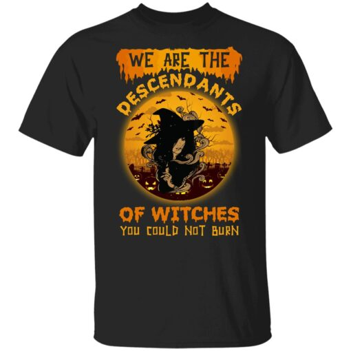 We Are The Descendants Of Witches You Could Not Burn Womens T-Shirt 7 of Sapelle