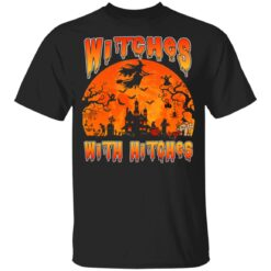 Womens Witches With Hitches Witch Funny Halloween Costume T-Shirt 23 of Sapelle