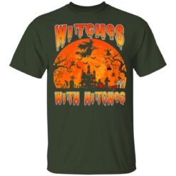Womens Witches With Hitches Witch Funny Halloween Costume T-Shirt 25 of Sapelle