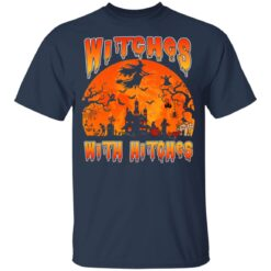 Womens Witches With Hitches Witch Funny Halloween Costume T-Shirt 27 of Sapelle
