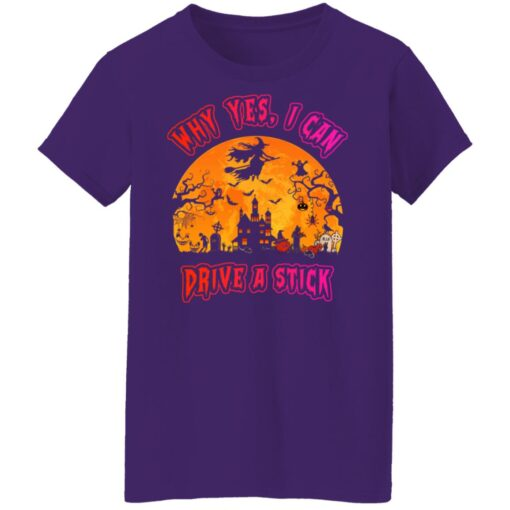 Why Yes, I can Drive A Stick Witch Funny Halloween Costume T-Shirt 13 of Sapelle