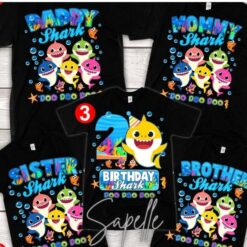 Baby Shark Birthday Shirt