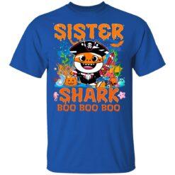 Family Birthday Ideas Sister Baby Shark Halloween Birthday T-Shirt 39 of Sapelle