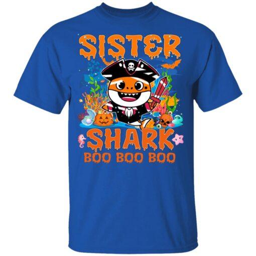 Family Birthday Ideas Sister Baby Shark Halloween Birthday T-Shirt 12 of Sapelle