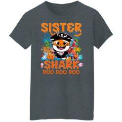 Family Birthday Ideas Sister Baby Shark Halloween Birthday T-Shirt 43 of Sapelle