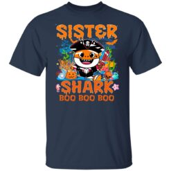 Family Birthday Ideas Sister Baby Shark Halloween Birthday T-Shirt 23 of Sapelle