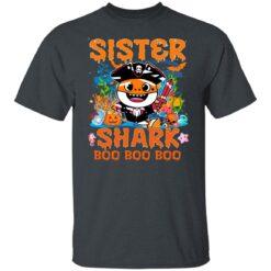Family Birthday Ideas Sister Baby Shark Halloween Birthday T-Shirt 19 of Sapelle