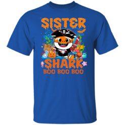 Family Birthday Ideas Sister Baby Shark Halloween Birthday T-Shirt 27 of Sapelle