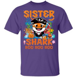 Family Birthday Ideas Sister Baby Shark Halloween Birthday T-Shirt 37 of Sapelle