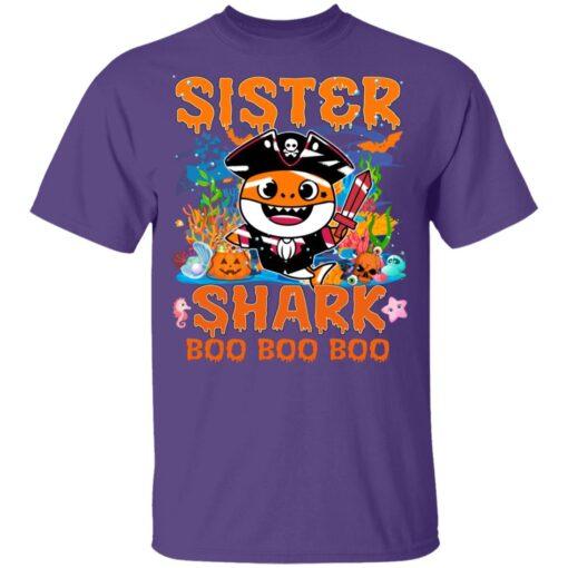 Family Birthday Ideas Sister Baby Shark Halloween Birthday T-Shirt 11 of Sapelle