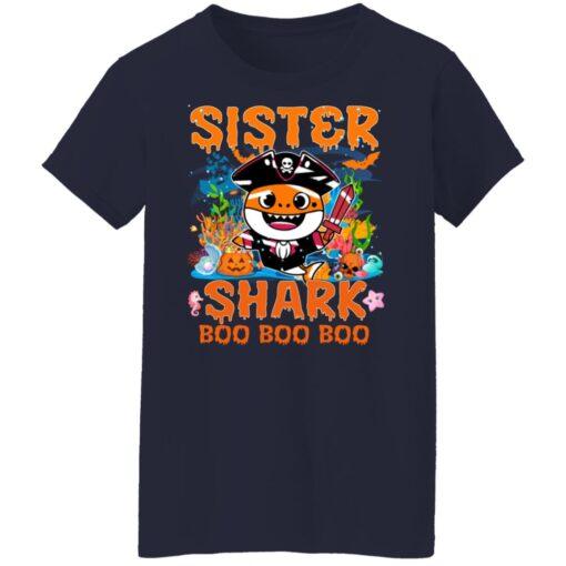 Family Birthday Ideas Sister Baby Shark Halloween Birthday T-Shirt 16 of Sapelle