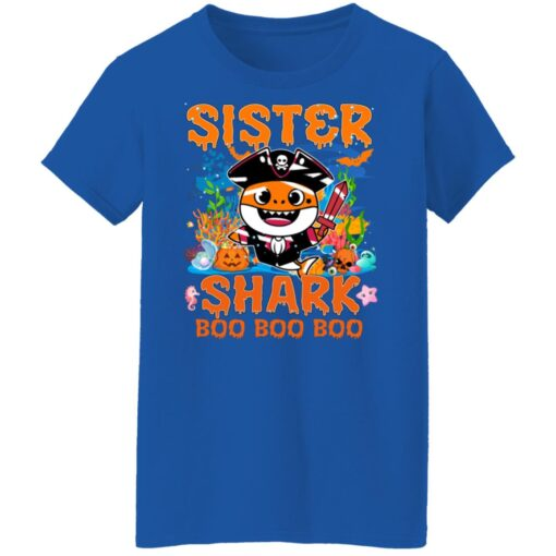 Family Birthday Ideas Sister Baby Shark Halloween Birthday T-Shirt 18 of Sapelle