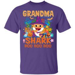 Family Birthday Ideas Grandma Baby Shark Halloween Birthday T-Shirt 37 of Sapelle