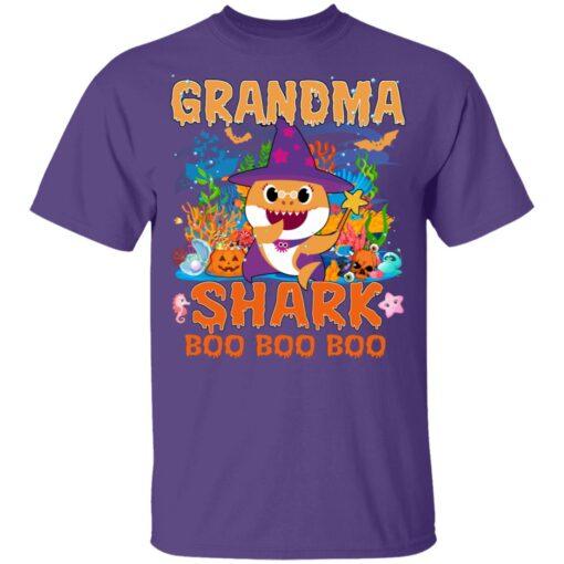 Family Birthday Ideas Grandma Baby Shark Halloween Birthday T-Shirt 11 of Sapelle