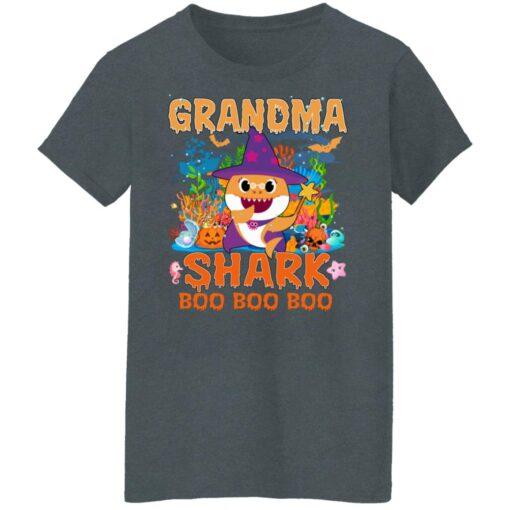 Family Birthday Ideas Grandma Baby Shark Halloween Birthday T-Shirt 14 of Sapelle