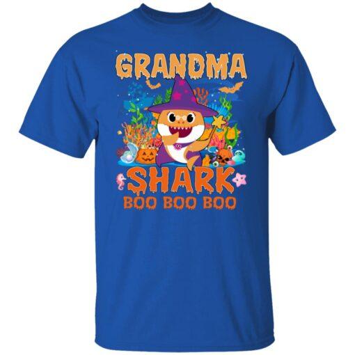 Family Birthday Ideas Grandma Baby Shark Halloween Birthday T-Shirt 6 of Sapelle