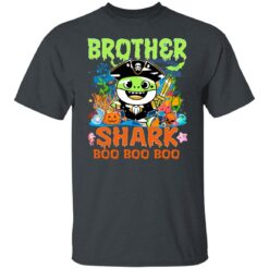 Family Birthday Ideas Brother Baby Shark Halloween Birthday T-Shirt 19 of Sapelle
