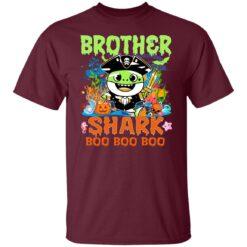 Family Birthday Ideas Brother Baby Shark Halloween Birthday T-Shirt 21 of Sapelle