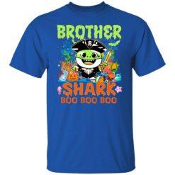 Family Birthday Ideas Brother Baby Shark Halloween Birthday T-Shirt 27 of Sapelle