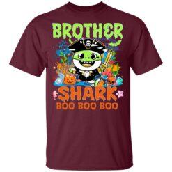 Family Birthday Ideas Brother Baby Shark Halloween Birthday T-Shirt 33 of Sapelle