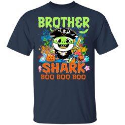 Family Birthday Ideas Brother Baby Shark Halloween Birthday T-Shirt 35 of Sapelle