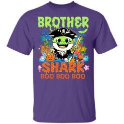 Family Birthday Ideas Brother Baby Shark Halloween Birthday T-Shirt 37 of Sapelle