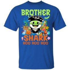 Family Birthday Ideas Brother Baby Shark Halloween Birthday T-Shirt 39 of Sapelle