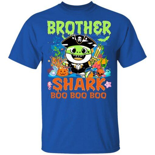Family Birthday Ideas Brother Baby Shark Halloween Birthday T-Shirt 12 of Sapelle