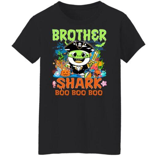 Family Birthday Ideas Brother Baby Shark Halloween Birthday T-Shirt 13 of Sapelle