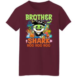 Family Birthday Ideas Brother Baby Shark Halloween Birthday T-Shirt 45 of Sapelle