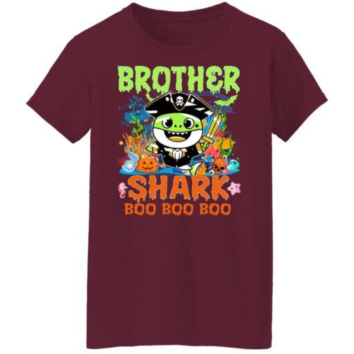 Family Birthday Ideas Brother Baby Shark Halloween Birthday T-Shirt 15 of Sapelle