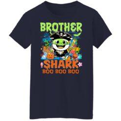 Family Birthday Ideas Brother Baby Shark Halloween Birthday T-Shirt 47 of Sapelle