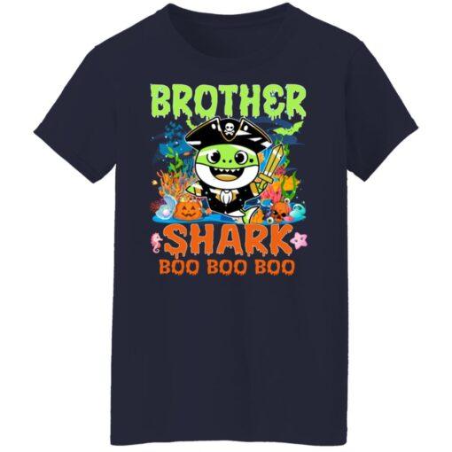 Family Birthday Ideas Brother Baby Shark Halloween Birthday T-Shirt 16 of Sapelle