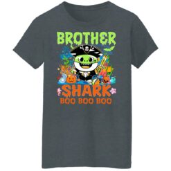 Family Birthday Ideas Brother Baby Shark Halloween Birthday T-Shirt 43 of Sapelle