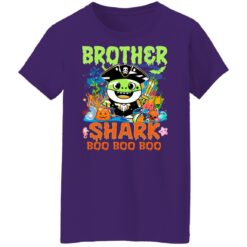 Family Birthday Ideas Brother Baby Shark Halloween Birthday T-Shirt 49 of Sapelle
