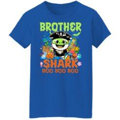 Family Birthday Ideas Brother Baby Shark Halloween Birthday T-Shirt 51 of Sapelle