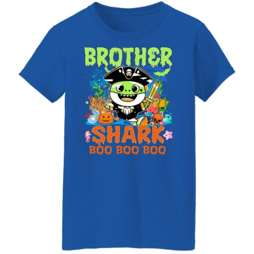 Family Birthday Ideas Brother Baby Shark Halloween Birthday T-Shirt 18 of Sapelle