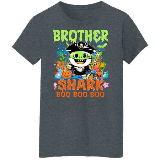 Family Birthday Ideas Brother Baby Shark Halloween Birthday T-Shirt 14 of Sapelle