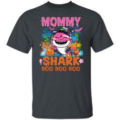 Family Birthday Ideas Mommy Baby Shark Halloween Birthday T-Shirt 19 of Sapelle