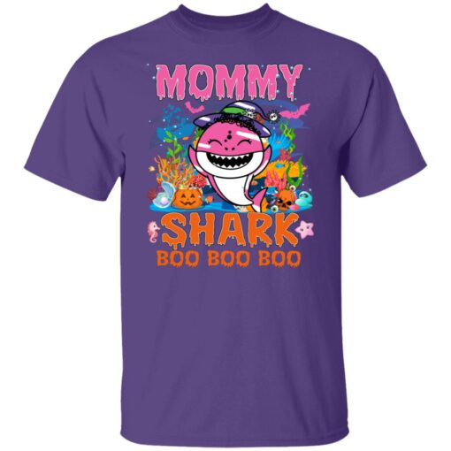Family Birthday Ideas Mommy Baby Shark Halloween Birthday T-Shirt 5 of Sapelle