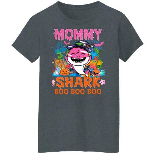 Family Birthday Ideas Mommy Baby Shark Halloween Birthday T-Shirt 14 of Sapelle