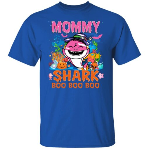 Family Birthday Ideas Mommy Baby Shark Halloween Birthday T-Shirt 6 of Sapelle